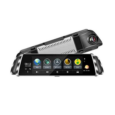 4G Streaming DVR De 10 Pulgadas De Pantalla Completa HD Smart Rearview Mirror 1080P HD Android