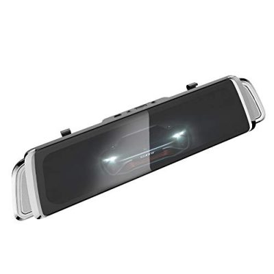 4G Streaming Media Driving Recorder 10 pulgadas de pantalla completa Smart Rearview Mirror Hd Android Navigation