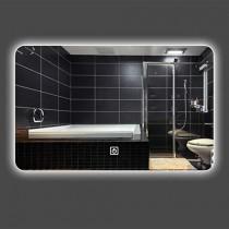 Baño Espejo_LED Lámpara Montado en la Pared Antiniebla Baño Baño Espejo Elegante Baño Inteligente