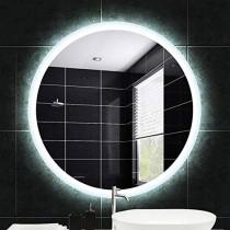 Espejo de baño, Inteligente, Espejo De Maquillaje Led Iluminado Redondo