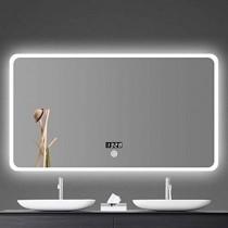 Espejo de baño LED Plaza Montado En La Pared Espejo Retroiluminado