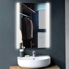 Espejo Inteligente Gabinete Baño montado en la Pared con Luces LED Música de Bluetooth