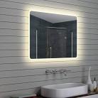 Espejo Inteligente Pantalla táctil Led baño Espejo Colgante de Pared