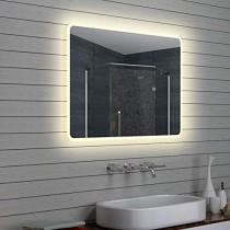 Espejo Inteligente Pantalla táctil Led baño Espejo Colgante de Pared Baño