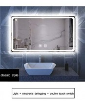 HELIn Espejo de baño Inteligente montado en la Pared Iluminado con luz LED